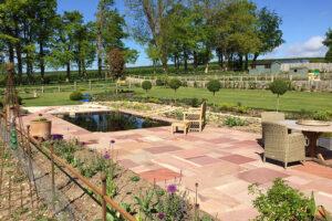 Garden Pond & Patio