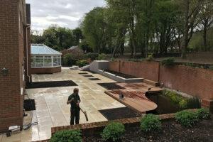 Remodel large garden