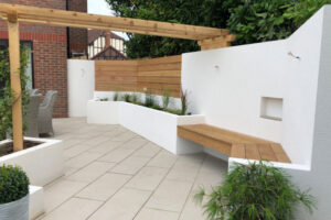 Garden Makeover Horton Heath Hampshire